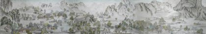 A part of Giant Traditional Chinese Painting