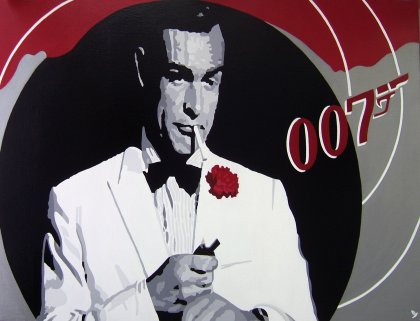 "JAMES BOND "" Sean Connery """