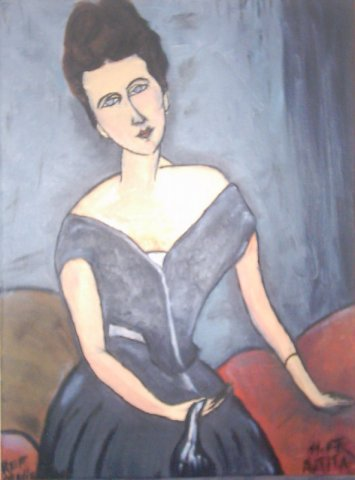 reproduction modigliani